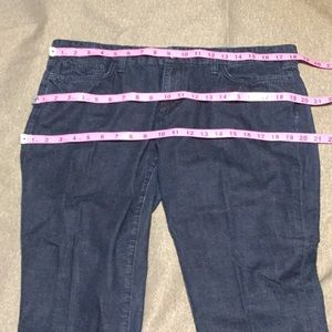 Joe's Jeans dark wash Capri new without tag!